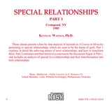 Special Relationships [CD]