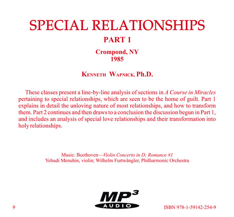 Special Relationships [MP3]