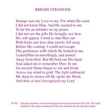 "Jesus: ""Bright Stranger"" [MP3]"