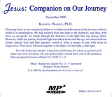 Jesus: Companion on Our Journey [MP3]