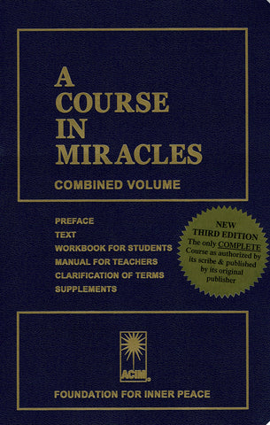 """A Course in Miracles"" [BOOK]"