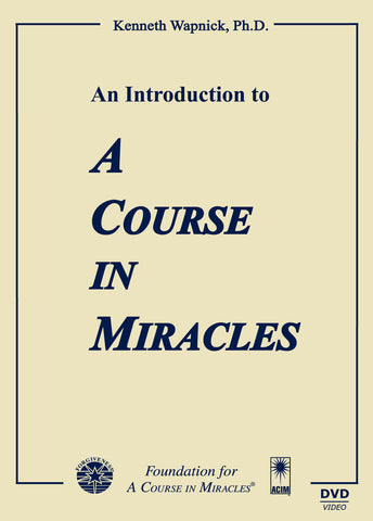"An Introduction to ""A Course in Miracles"" [DVD]"