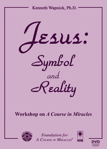 Jesus: Symbol and Reality [DVD]