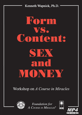Form versus Content: Sex and Money [MP4]
