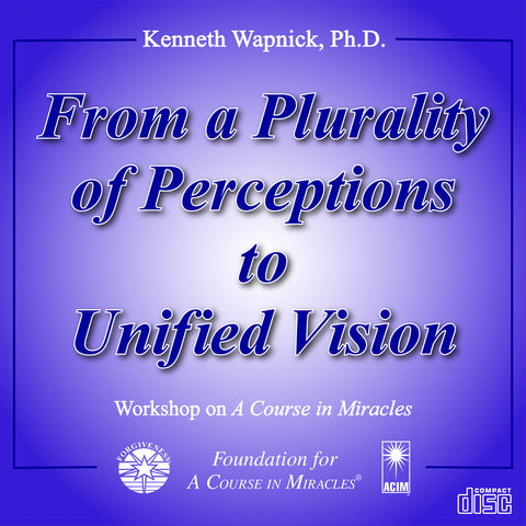 From a Plurality of Perceptions to Unified Vision [CD]