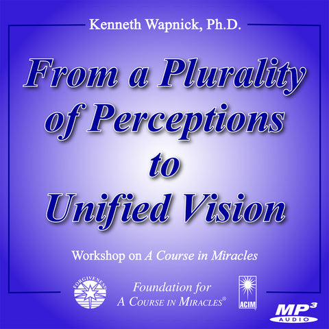 From a Plurality of Perceptions to Unified Vision [MP3]