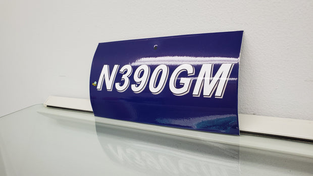 390GM Mini Tail Number Replica