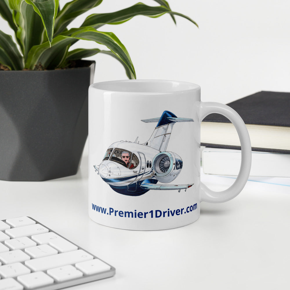 P1D Coffee Mug- I love the smell of Jet Fuel!