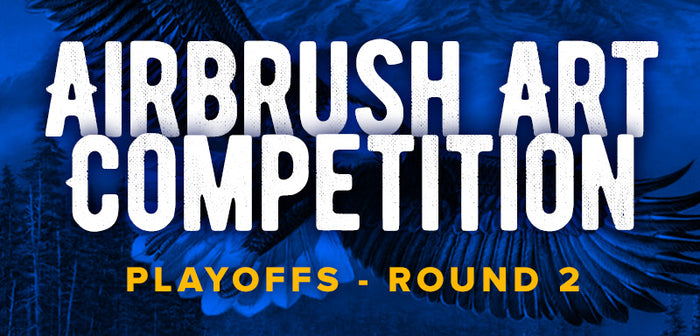 Airbrush Art Competition - Playoffs Round 2