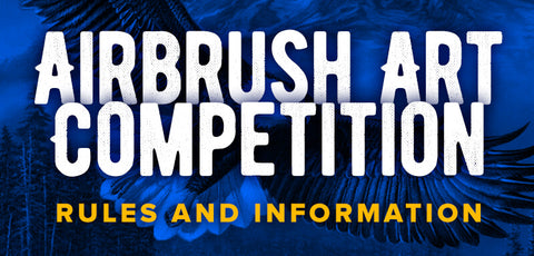 Airbrush Art Competition - Rules and Information