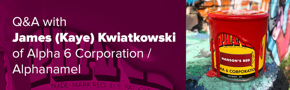 Q&A with James (Kaye) Kwiatkowski of Alpha 6 Corporation / Alphanamel