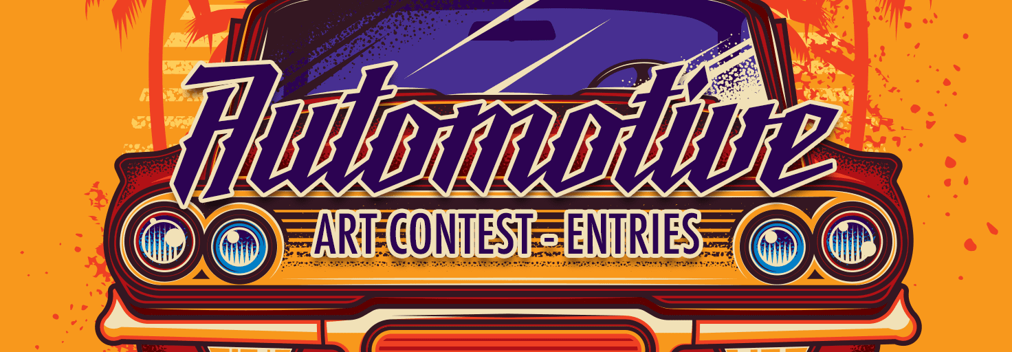 Automotive Art Contest - Entries