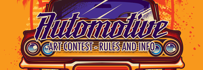 Automotive Art Contest - Rules and Info