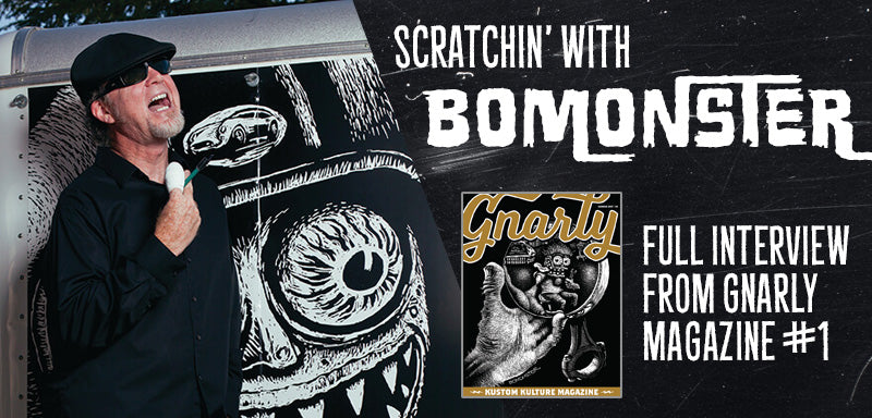Scratchin' with BOMONSTER - Full Interview