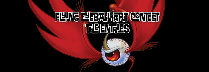 Flying Eyeball Art Contest - The Entries and Matchups