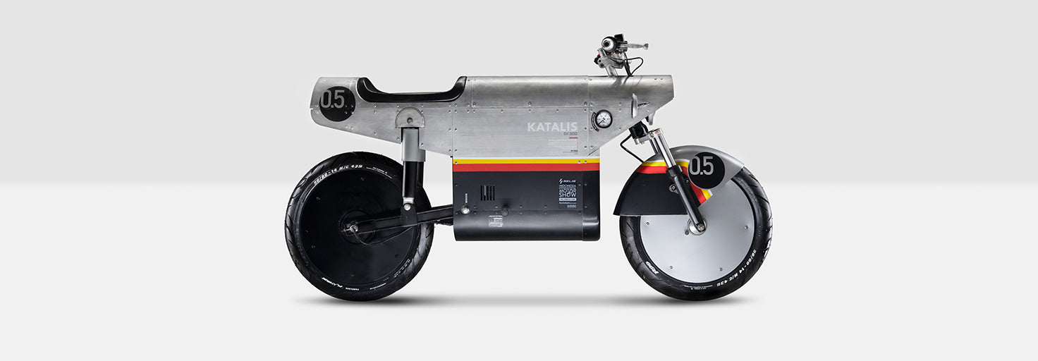 A Look At The Katalis EV.500 Electric Motorcycle