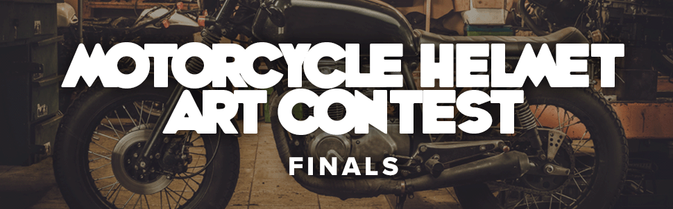 FINALS - Motorcycle Helmet Art Contest