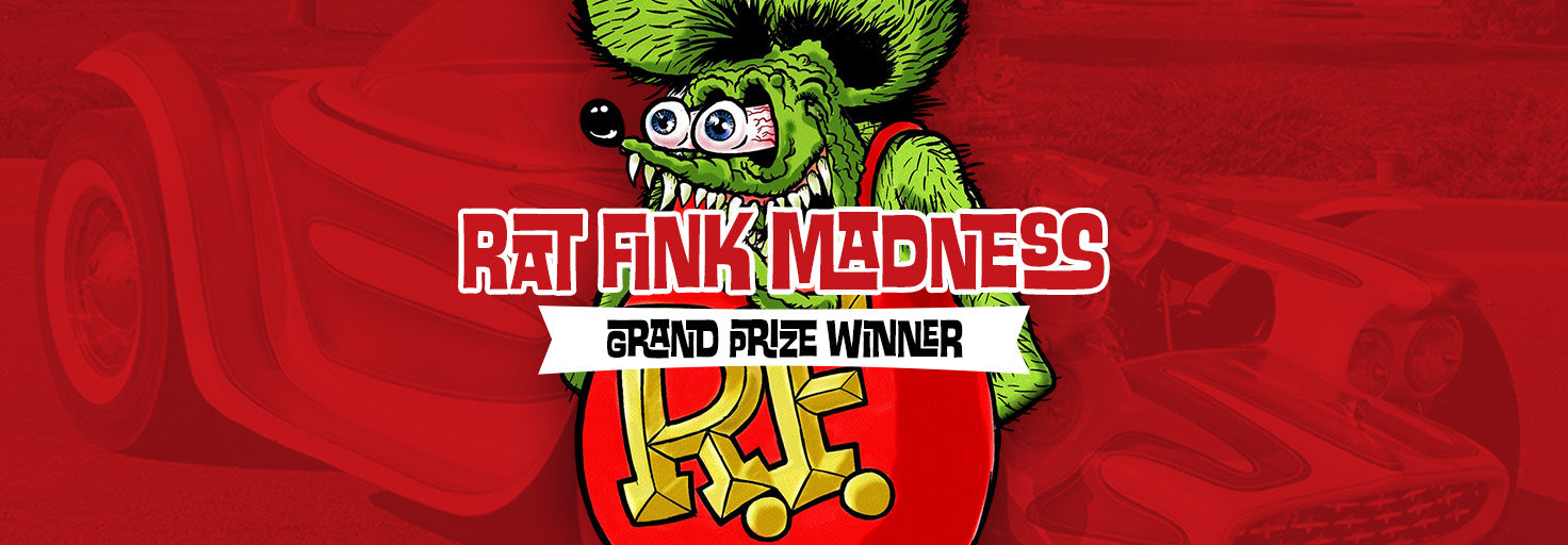 Rat Fink Madness Art Contest - Grand Prize Winner