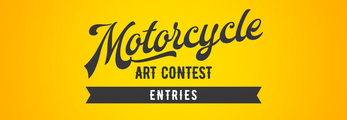 Motorcycle Art Contest - Entries and Matchups