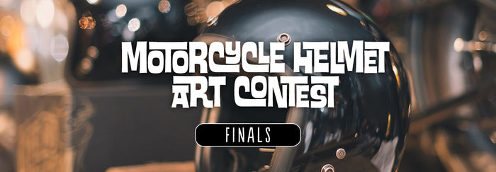 Motorcycle Helmet Art Contest - FINALS