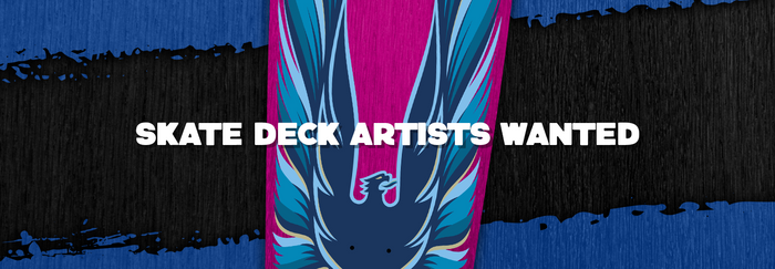Skateboard Deck Art Artists Wanted for Print Feature