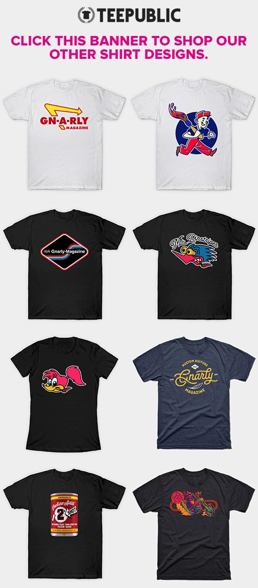 Gnarly Magazine t-shirts on TeePublic.com