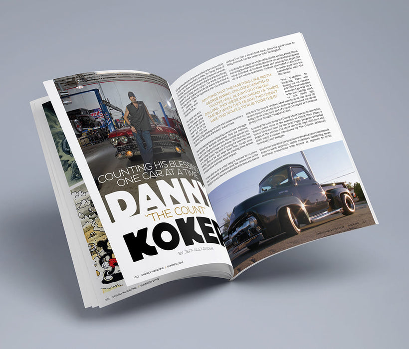 "Gnarly Magazine - Issue #9 - Danny ""The Count"" Koker"