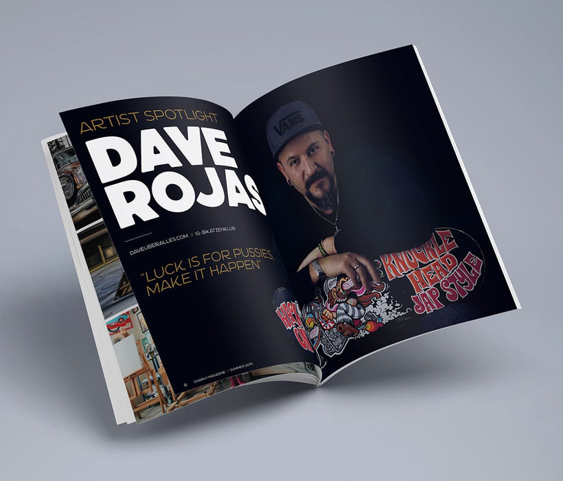 Gnarly Magazine - Issue #9 - Dave Uber Alles