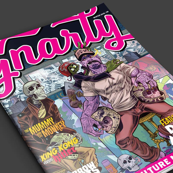 Gnarly Magazine - Issue #3 - Winter 2018