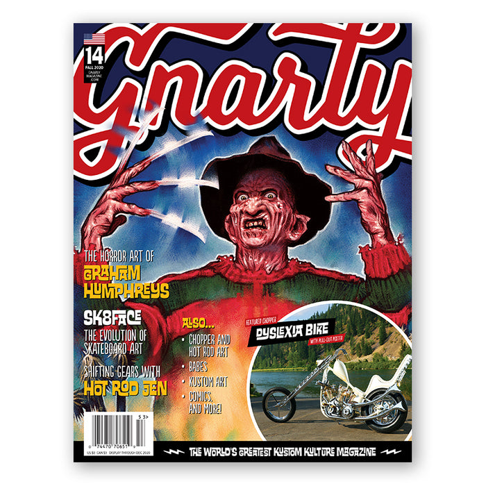 Issue #14 - Fall 2020 - Gnarly Magazine - Print
