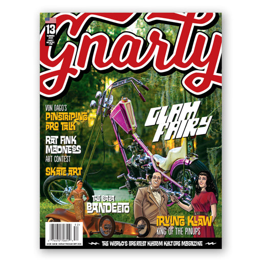 Issue #13 - Gnarly Magazine - Print