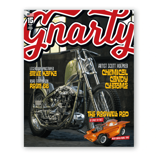 Issue #15 - Gnarly Magazine - Print