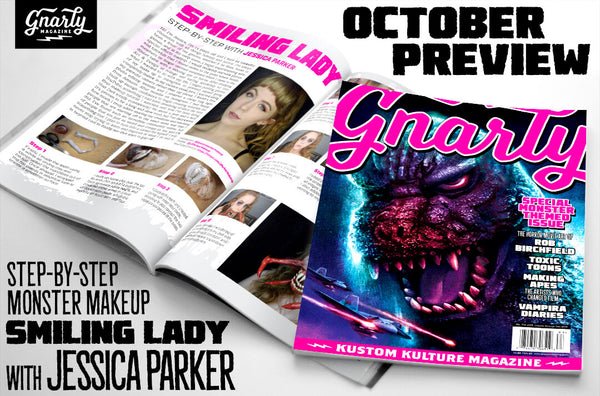 Issue #6 - Gnarly Magazine - Print