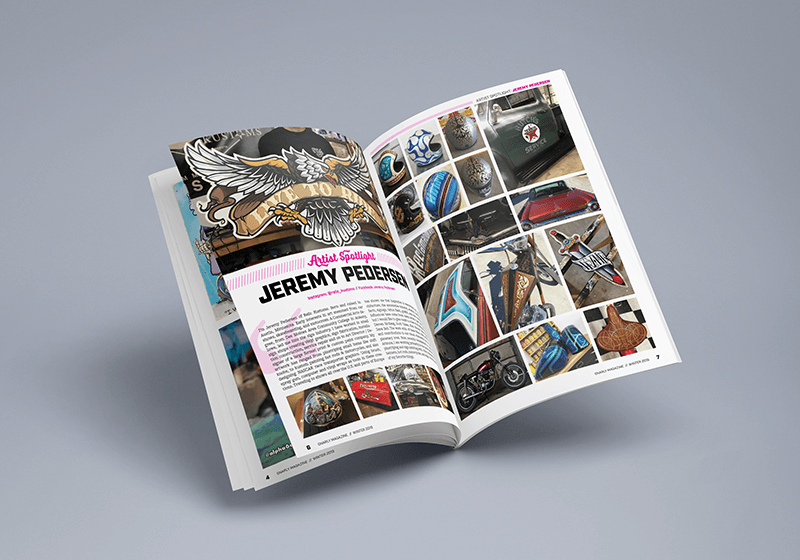 Gnarly Magazine - Issue #7 - Jeremy Pederson