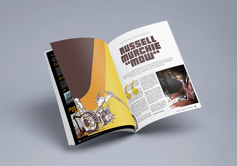 Gnarly Magazine - Issue #7 - Russell Murchie