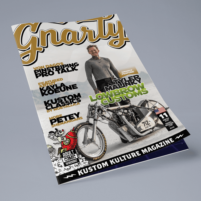 Issue #11 - Gnarly Magazine - Print