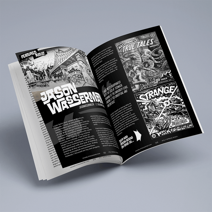 Issue #12 - Gnarly Magazine - Print