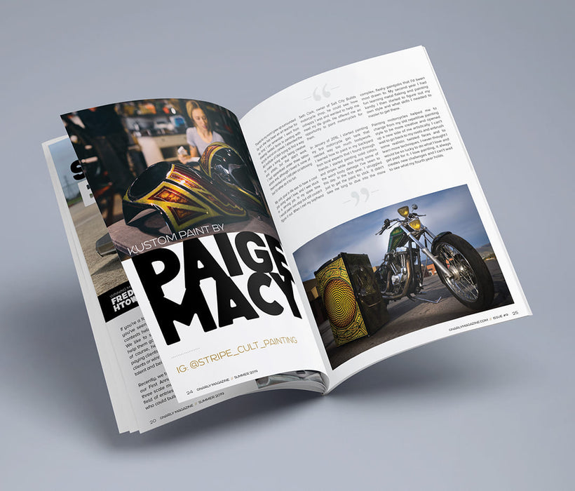 Gnarly Magazine - Issue #9 - Paige Macy