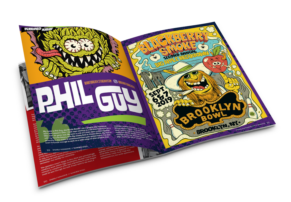 Issue #13 - Summer 2020 - Gnarly Magazine - Print