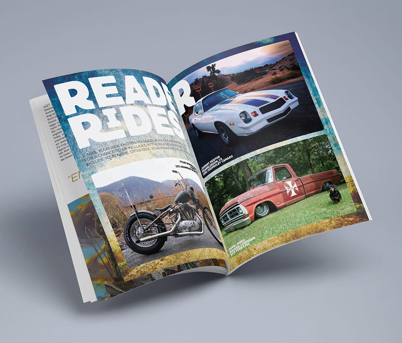 Gnarly Magazine - Issue #9 - Reader Rides