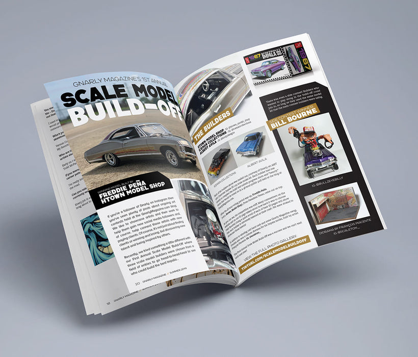 Gnarly Magazine - Issue #9 - Scale Model Build-Off
