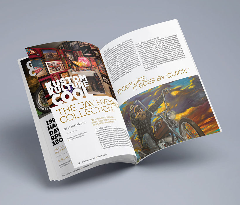 Gnarly Magazine - Issue #9 - Kustom Kulture painting collection