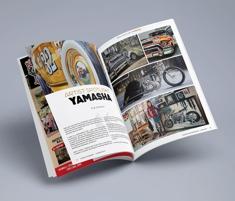 Gnarly Magazine - Issue #9 - Yamasha