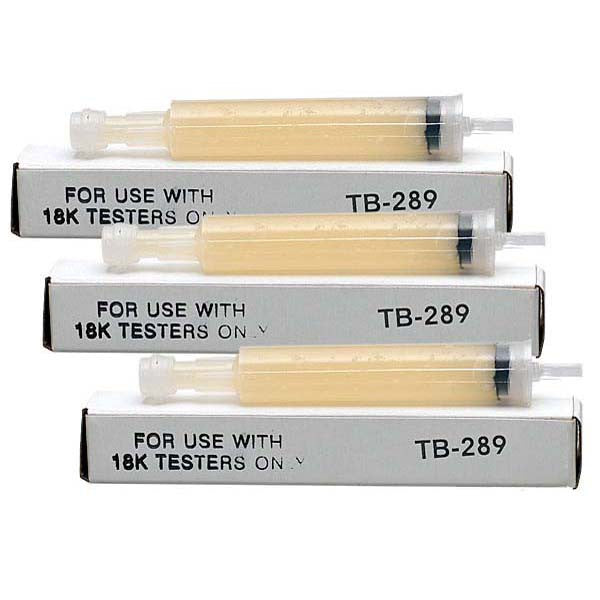 Gel Refill for Tri Electronics GXL-18 & GT-3000 Gold Testers (3-pack)