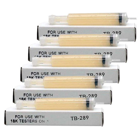 Gel Refill for Tri Electronics GXL-18 & GT-3000 Gold Testers (5-pack)