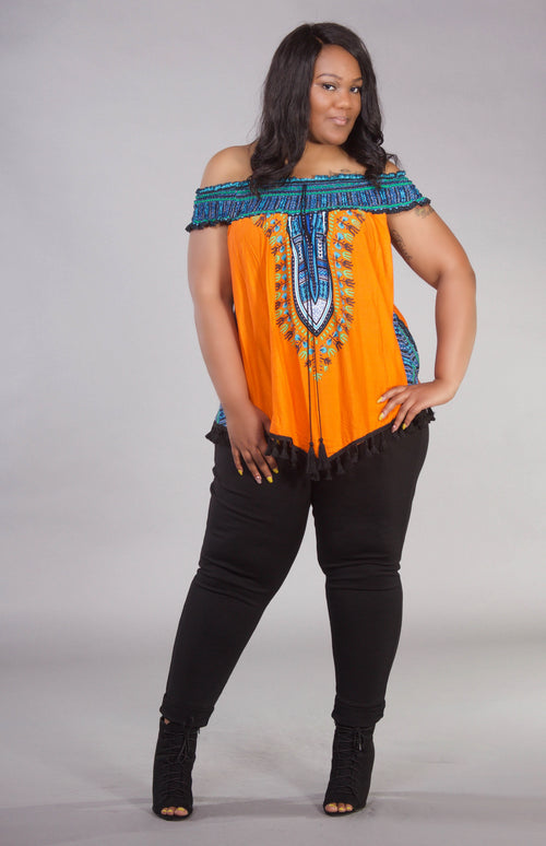Dashiki Chic Top