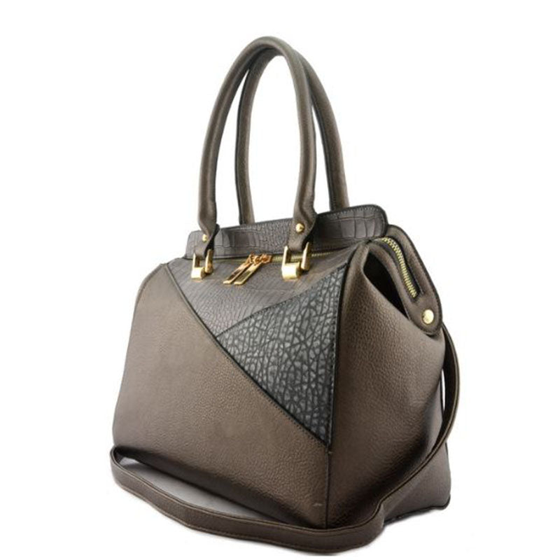 Carrington Handbag-Grey