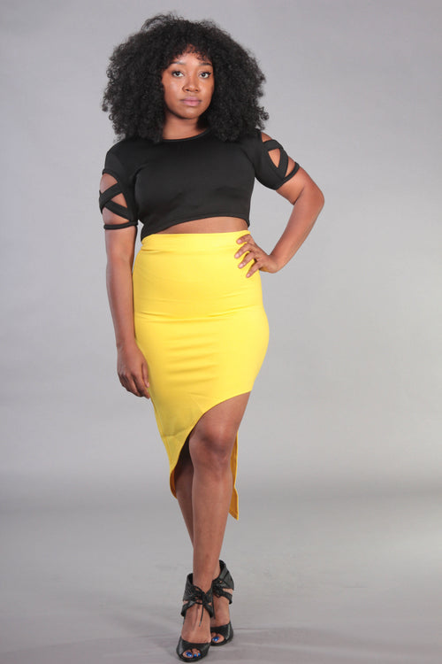 Mellow Assymetrical Skirt
