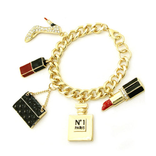 Beauty Staple Charm Bracelet