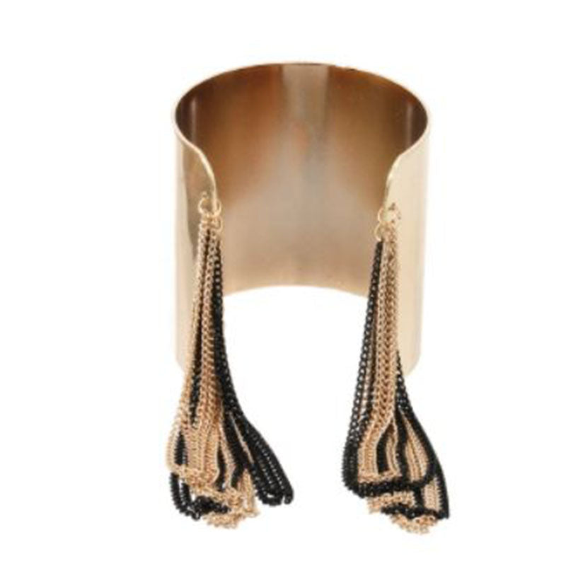 Double Chain Drop Cuff